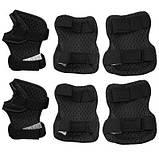 Комплект защитный SportVida Size S Grey/Black SKL41-277757, фото 3