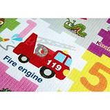 Развивающий детский коврик двухсторонний 4FIZJO Kids 180 x 180 x 1 см SKL41-277898, фото 3