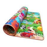 Развивающий детский коврик двухсторонний 4FIZJO Kids 180 x 180 x 1 см SKL41-277898, фото 5