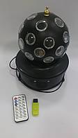 Диско Шар Music Ball K1 светодиодный-читает и воспроизводит музыку, с пультом и флешкой