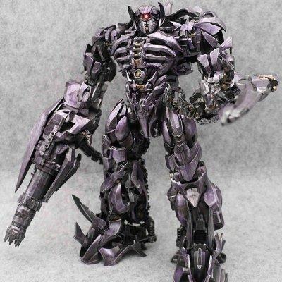 Робот-трансформер Шоквейв, Zeus Magic, 35 см Shockwave, Dark of the Moon SKL14-279056