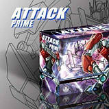 Робот-трансформер Оптимус Прайм, Трансформеры Прайм, 16 см Apc Toys, Optimus Prime, Tfp SKL14-279061, фото 8