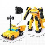 Робот-трансформер из кинофильма Бамблби, инерционный, 11 см Bumblebee SKL14-279064, фото 4