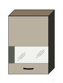 """Кухня """"Аліна"""" верхній модуль 50ВВ колір - дуб Сонома / латте"""
