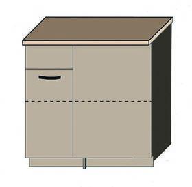 """Кухня """"Аліна"""" нижній модуль КН100х60 колір - дуб Сонома / латте"""