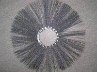 Диск щеточный металлический  120х550