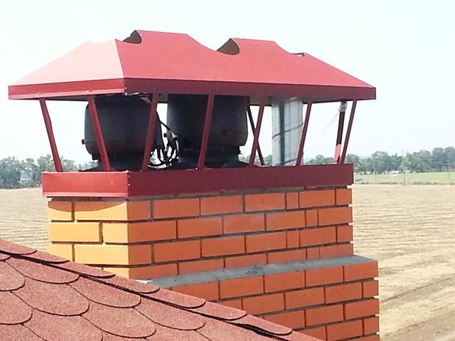 Вентиляция ДОМА, КОТТЕДЖА, ТАУН - ХАУСА. ГИБРИДНЫЕ вентиляторы для кирпичных дымоходов
