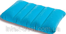 Intex 68676G (Зелёная) Надувная подушка 3 вида, фото 2