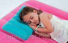 Intex 68676G (Зелёная) Надувная подушка 3 вида, фото 3