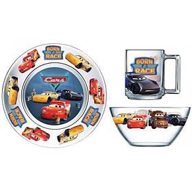 Набор детской посуды 3 предмета Тачки 3 ОСЗ Disney 18с2055 ДЗ