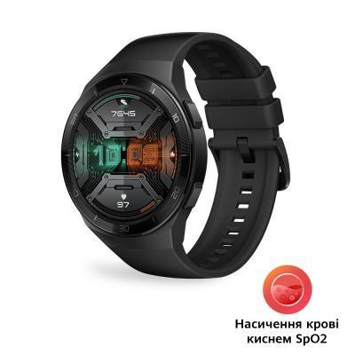 Смарт-часы Huawei Watch GT 2e Graphite Black Hector-B19S SpO2 (55025278)