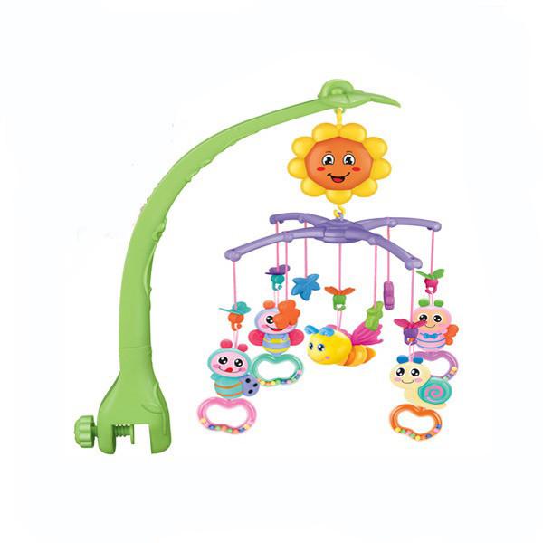 Карусель мобіль на дитячу ліжечко NATURE MUSICL MOBILE Музична каруселька на пульті для немовляти