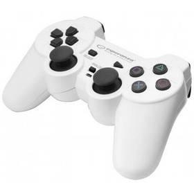 Геймпад проводной Esperanza Trooper PS3/PC White Original