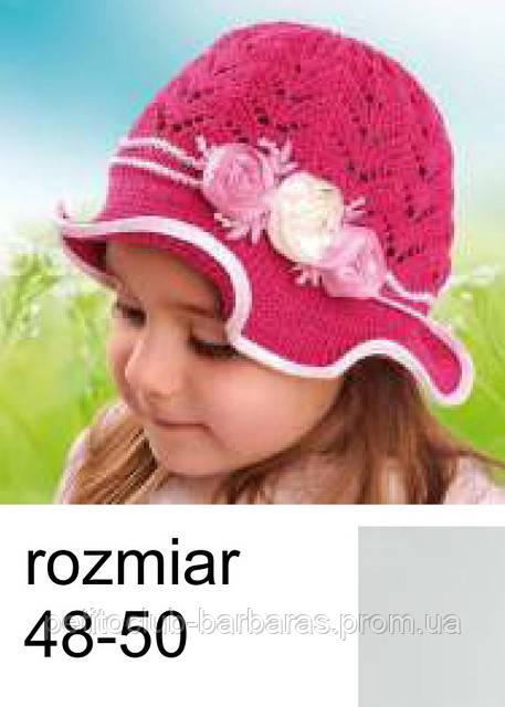 Шапка для девочки Колокольчик  (Польша)