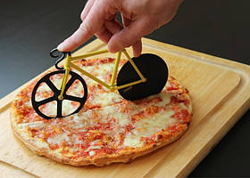 Нож для пиццы Велосипед Желто-черный (rb122984)