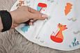 Євро-пелюшка на блискавці Magbaby c шапочкою Part Лісова Бувальщина 0-3 міс, фото 6