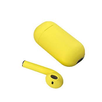 Беспроводной моно наушник Inpods One с поддержкой Siri Желтый (hub_sLHz52766)