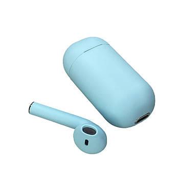 Беспроводной моно наушник Inpods One с поддержкой Siri Голубой (hub_xqwj99612)