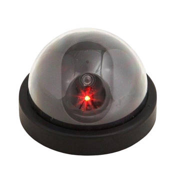 Муляж видеокамеры Protect купольная камера видеонаблюдения Черная (hub_QnLP06679)
