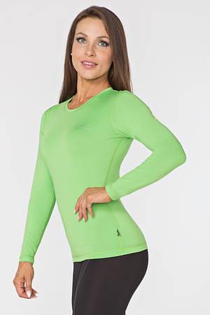 Женский спортивный лонгслив Radical Efficient L Зеленый (r0811)