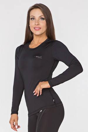 Женский спортивный лонгслив Radical Efficient L Черный (r0805)
