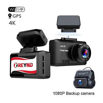 Видеорегистратор REYND F30 2CAM WiFi GPS 4K
