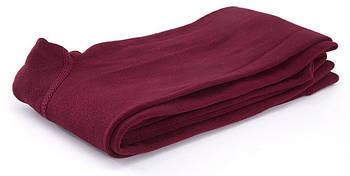 Леггинсы теплые с тонким начесом Fleece thin XS-M Бордовый (BHm00374)