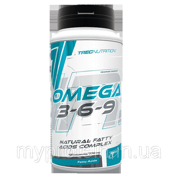 TREC nutrition Омега 3-6-9 Omega 3-6-9 (120 caps)