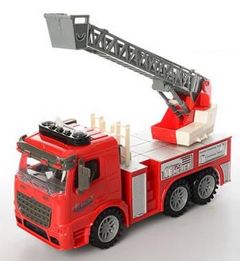 Пожарная машина с лестницей (fe.98-616AUT)