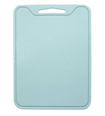Разделочная доска силиконовая универсальная Мятный 29х21,5х0,4 см Мятный (vol-803)