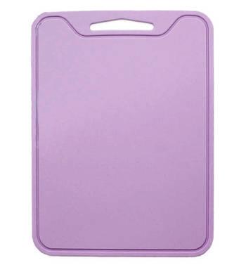 Разделочная доска силиконовая универсальная 29х21,5х0,4 см Розовый (vol-806)