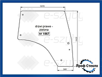 Стекло Deutz-Fahr Agrofarm Tier 3 410 420 430, Agrofarm 85G 100G 115G правая дверь
