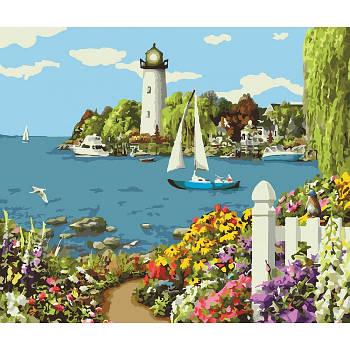 Картина по номерам Идейка Райский уголок 40 х 50 см (SKHO2226)