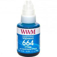 Чернила WWM Epson L110/L210/L300 140г Cyan (E664C)