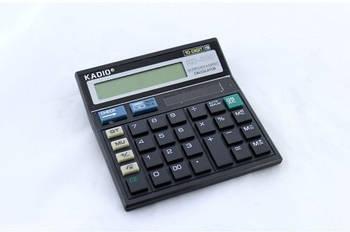 Калькулятор настольный Kadio KD500 Черный (opw45016)