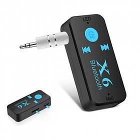 Беспроводной адаптер Bluetooth приемник аудио ресивер BT-X6 TF card (BTX6B)