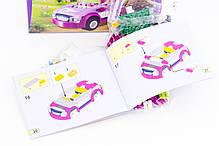 """Конструктор Bela """"Спортивный автомобиль Эммы"""" 158 деталей арт. 10154 (аналог LEGO Friends 41013), фото 3"""