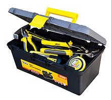 """Ящик для инструмента 16"""" (395*223*165 мм), пластиковые замки MASTERTOOL 79-2216"""