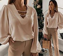 """Женская блуза с декором """"Palmer"""" В И"""