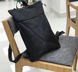 Рюкзак шкіряний LR-01 Чорний