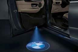 Универсальная Подсветка дверей с логотипом авто BMW . Штатная LED подсветка в двери БМВ