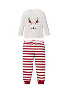 Пижама детская (реглан, штаны) с рисунком