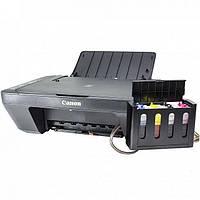 3 в 1: МФУ CANON E414 + СНПЧ Черный печать фото текста сканирование фотостудия принтер сканер копир хит