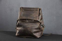 Рюкзак шкіряний LR-03 Коричневий