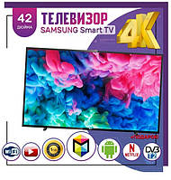 Телевизор Samsung 42 дюйма Smart TV Ultra HD WIFI Телевізори Самсунг Смарт ТВ S 43 40