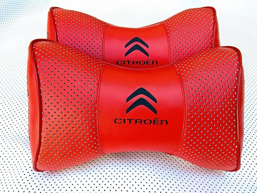 Автомобильная подушка на подголовник в машину CITROEN Подушка на подголовник для водителя под шею