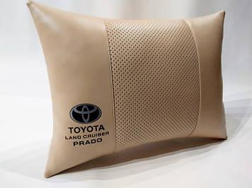 Подушка ортопедическая в автомобиль Подушка для водителя Подушка в авто Подарок в машину Тойота