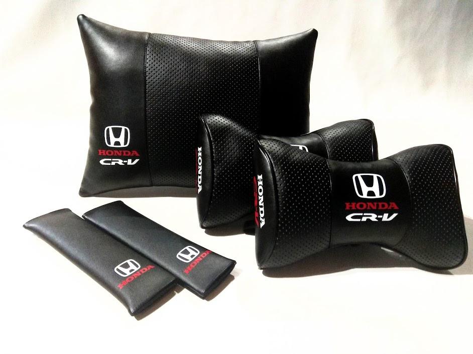 Комплект аксессуаров салона HONDA CR-V Подарок в машину HONDA CR-V Подушка в авто HONDA CR-V Подарок в машину