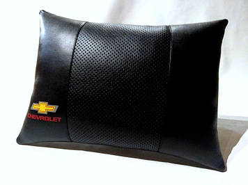 Подушка ортопедическая в автомобиль Подушка для водителя Подушка в авто Подарок в машину Шевроле