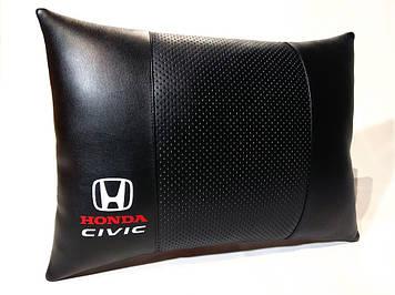 Подушка ортопедическая в автомобиль Подушка для водителя Подушка в авто Подарок в машину Хонда